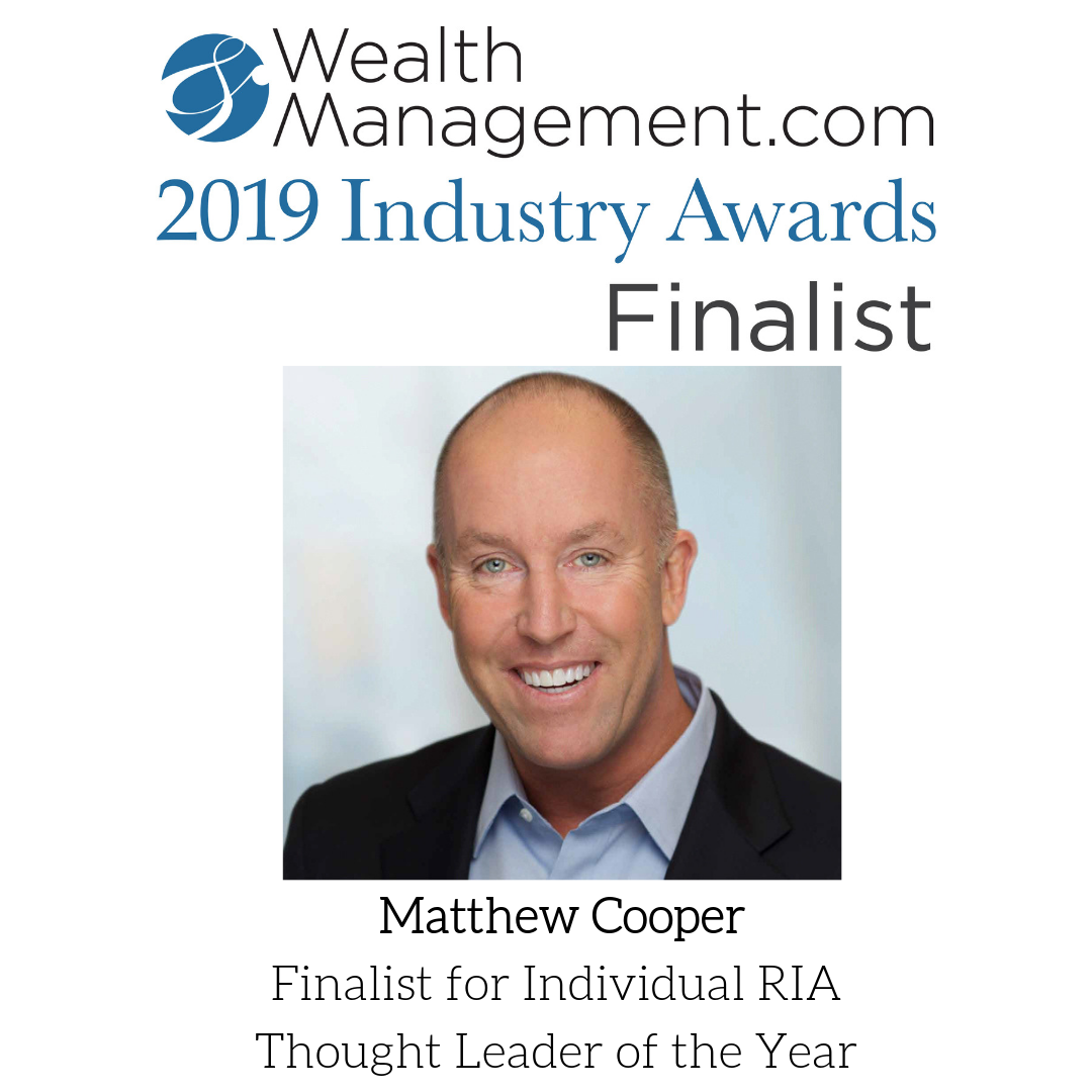 Matthew Cooper named Finalist for Individual RIA Thought Leader of the Year