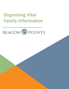 Organizing Vital Family Information