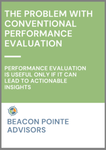 Problem with Conventional Performance Evaluation